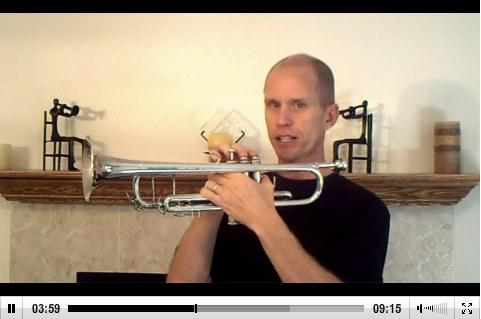 trumpet lesson video cap