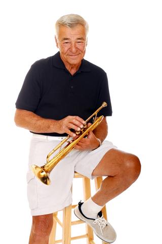 Older Trumpet student